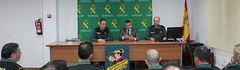 La Guardia Civil forma a los agentes de Albacete sobre la venta y uso de artículos pirotécnicos en la provincia.