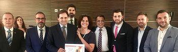 El Ayuntamiento de Almansa recoge la Medalla de Oro del Círculo Intercultural Hispano Árabe