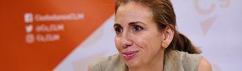 Úrsula López, diputada autonómica de Ciudadanos en las Cortes de Castilla-La Mancha.
