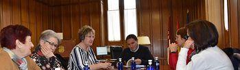 Reunión con la Asociacion de Mujeres de El Provencio.