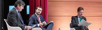 El consejero de Desarrollo Sostenible, José Luis Escudero, asiste, en el Palacio de Congresos de Toledo, a la inauguración del III Congreso Nacional de Gestión de Residuos de Aparatos Electrónicos y Eléctricos (RAEE). (Fotos: A. Pérez Herrera // JCCM).