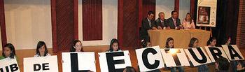 Imagen del director general del Libro, Archivos y Bibliotecas, Luis Martínez, durante el VII Encuentro de Clubes de Lectura de la provincia de Albacete, que hoy se está celebrando en la Casa de Cultura de La Roda.
