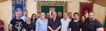 El delegado de la Junta visita el RECUAL de La Gineta.