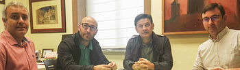 José Ignacio Díaz, Ramón Sáez, Julián Morcillo y Daniel Martínez.