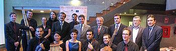 Novillo asistió ayer a la XVII edición del Festival Internacional de Música de Toledo