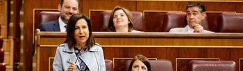 Margarita Robles, portavoz socialista .