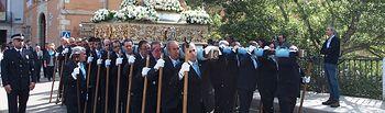 Cientos de conquenses acompañan a la Virgen de la Luz en la procesión y la misa por el día de su festividad