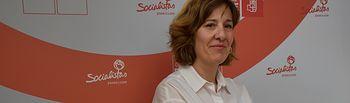 Blanca Fernández, cabeza de lista del PSOE al Congreso por Ciudad Real.