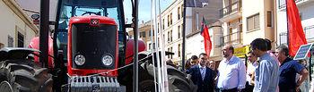 I Exposición de Maquinaria Agrícola en Motilla del Palancar (Cuenca). Foto: JCCM.