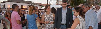 Álvaro Gutiérrez inaugura en Escalon la Muestra de Productos Gastronómicos de la provincia de Toledo