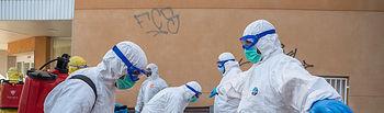 Coronavirus - Presencia militar en Castilla-La Mancha para hacer frente al COVID-19, en colaboración con los Cuerpos y Fuerzas de Seguridad del Estado.