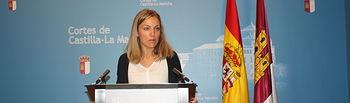 María Jesús Merino, diputada del PSOE en las Cortes de Castilla-La Mancha.
