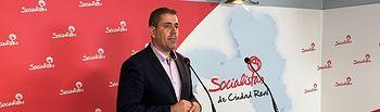 José Manuel Bolaños, secretario de Organización del PSOE provincial de Ciudad Real, y Senador.