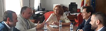 Herreros Ramírez se reúne con la Junta Directiva de Fecir