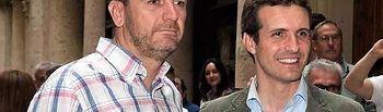 Antonio Martínez Iniesta y Pablo Casado. Archivo.