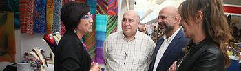 El vicepresidente segundo del Gobierno regional, José García Molina, y la consejera para la Coordinación del Plan de Garantías Ciudadanas, Inmaculada Herranz, visitan FARCAMA. (Fotos: Ignacio López//JCCM)