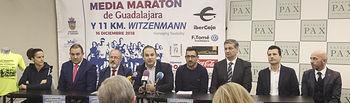 Presentación de la Media Maratón de Guadalajara
