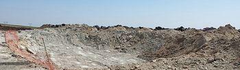 Se inician nuevas actuaciones para conservar el medio ambiente, al tiempo que se trabaja en la extinción del incendio del vertedero de neumáticos de Seseña. Foto: JCCM.