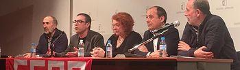Asamblea 'Presente y futuro de las pensiones públicas'.
