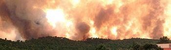 Incendio de Yeste - Desde Molinicos