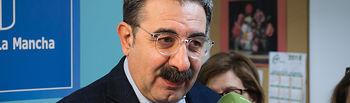 Jesús Fernández Sanz, consejero de Sanidad de la JCCM