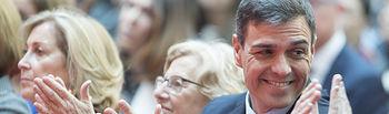 Pedro Sánchez en los actos conmemorativos del Día de la Comunidad de Madrid.