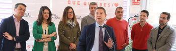 La Villa de Don Fabrique , (Toledo), 22/04/2019. Acto del secretario general del PSOE de Castilla-La Mancha Emiliano García-Page. (Fotos: PSCM-PSOE)