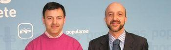 Joaquín Altuzarra y Juan Marcos Molina.
