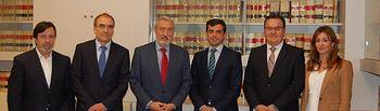 Reunión mantenida en Madrid con el secretario de Estado de Infraestructuras, Transporte y Vivienda