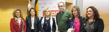 Inauguración de la Jornada organizada por CCOO en Albacete
