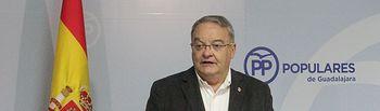 Juan Antonio de las Heras candidato al Senado por el PP de   Guadalajara