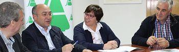 Carmen Olmedo con Asaja Ciudad Real.