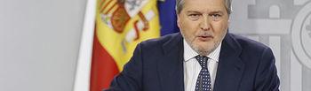 El portavoz del Gobierno de España, Íñigo Méndez de Vigo