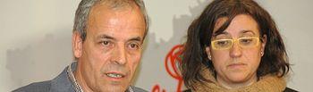 Julio García y Lola Pérez Bravo.