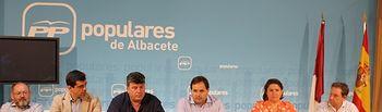 Reunión del Comité Ejecutivo Provincial, presidido por Francisco Núñez.