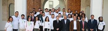 Visita de los participantes en el III Campus Jóvenes Cooperativistas que organiza Cooperativas Agro-Alimentarias de CLM. (Fotos: Ignacio López // JCCM)