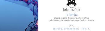 Lola Muñoz presenta su nueva colección 'MARE'