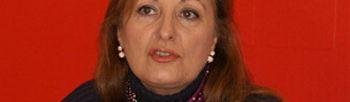 María Antonia Pérez León, secretaria general del PSOE de Guadalajara