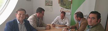 """VOX firma en Toledo el documento """"Una apuesta real por la caza"""""""