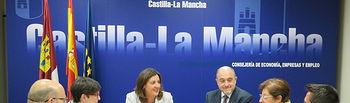 El Gobierno regional invita a Cáritas a participar en las próximas convocatorias de los planes 'Garantía +55' y del destinado a mayores de 45. Foto: JCCM.