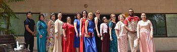 Alumnos del Taller 'Arreglos y adaptaciones de prendas y artículos en textil y piel'
