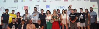 Clausura de la I edición del Festival Internacional de Cine de Almagro