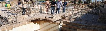 NdP Valdepeñas hace visitable el vaso de la antigua Casa del cura Rabadán en el paraje El Peral - Valdepeñas