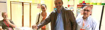 Francisco Fernández-Bravo votando 28A