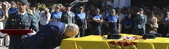 Jorge Fernández Díaz en el transcurso del acto (Foto: EFE)