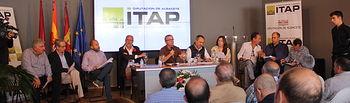 Presentación de la Mesa de la Almendra en la Lonja de Albacete