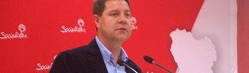 Emiliano García Page durante su intervención