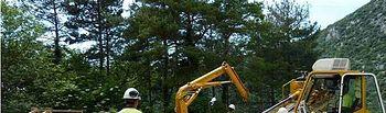 Reparación tuberías. Foto: Ministerio de Agricultura, Alimentación y Medio Ambiente