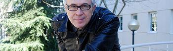 Jesús Ordovás, en la Facultad de Letras de Ciudad Real