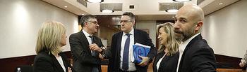 Reunión de la Comisión de Economía y Presupuestos sobre el Proyecto de Ley de Presupuestos Generales de la Junta de Comunidades de Castilla-La Mancha para 2020 y el Proyecto de Ley de Medidas Administrativas y Tributarias de Castilla-La Mancha. (FOTOS: Carmen Toldos).